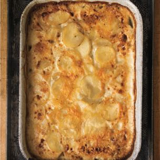 Scallop Potatoes With Gruyere Cheese Recipes.