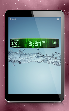 Digital Clock Weather Widget 1.3.2 screenshot 580637