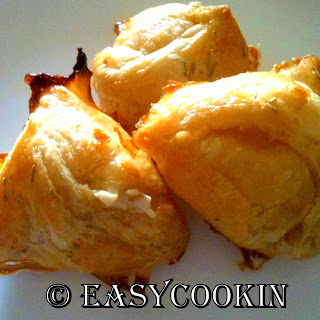 Chicken Cream Cheese Puffs