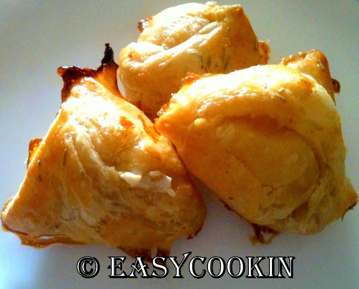 Chicken Cream Cheese Puffs