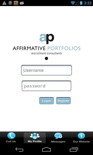 Affirmative Portfolios 1.2 screenshots 2