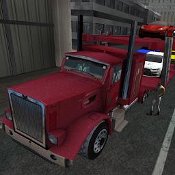 3Dの車の輸送トラックのSIM