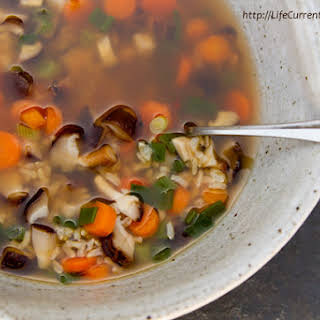 Brown Rice Vegetable Soup.