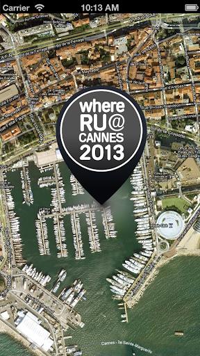 【免費社交App】whereRU@Cannes-APP點子