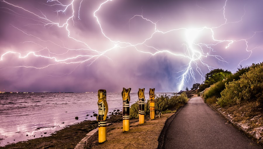 light it up by Alan Wright - Landscapes Weather (  )