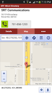 SRT Minot Phone Directory - screenshot thumbnail
