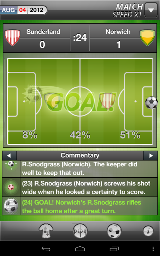 MYFC Manager 2013 - Football - screenshot