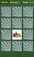 Screenshot of Memory game (Pairs)