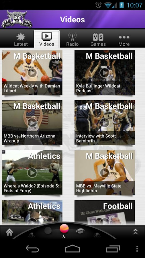 Weber State Wildcats: Free- screenshot