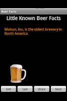 Screenshot of Beer Facts 2010