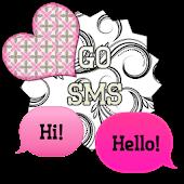 GO SMS - Sweet Hearts 7