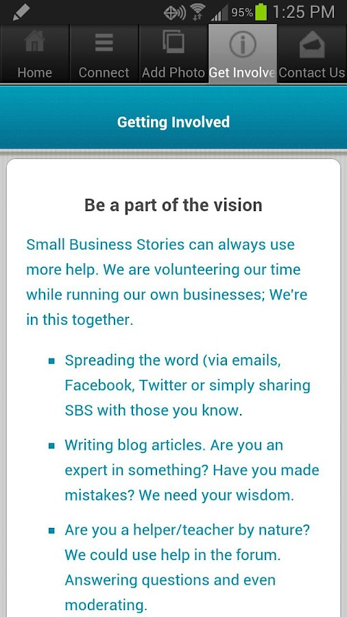 Small Biz Stories - screenshot