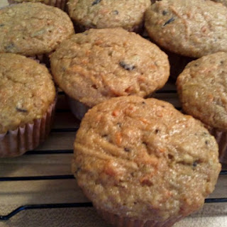Anytime Apple Carrot Muffins