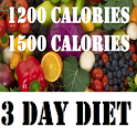 1200 and 1500 Calories Diets logo