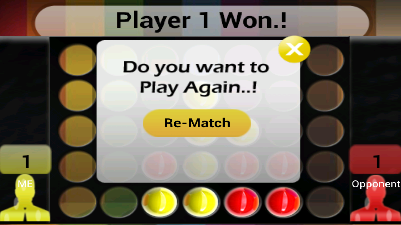 Connect Four Challenge Edition- screenshot