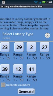 Virginia Lottery Droid Lite - screenshot thumbnail
