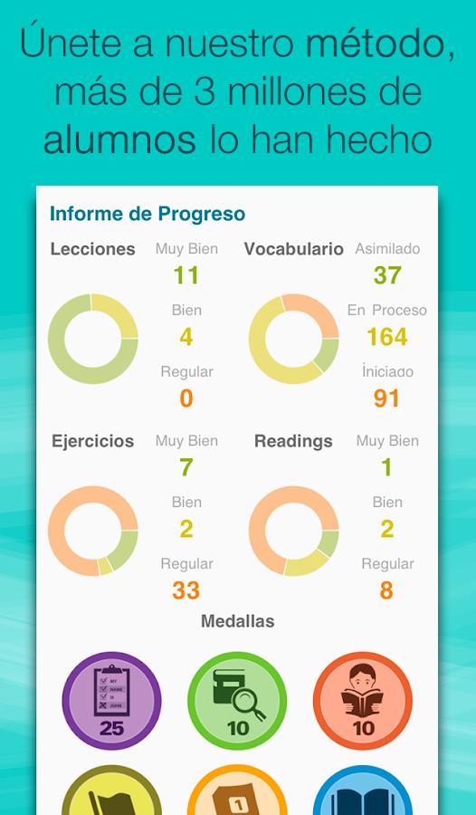 Aprender inglés con Wlingua - screenshot