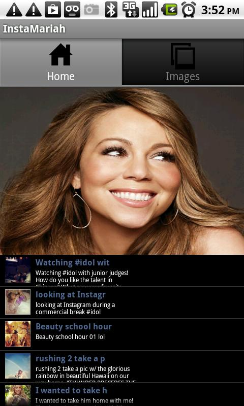 Mariah Carey Instagram - screenshot