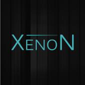GO SMS Theme Elemental Xenon