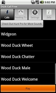Duck Call Free - screenshot thumbnail