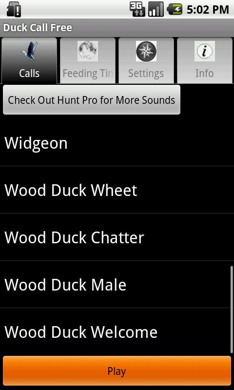 Duck Call Free - screenshot