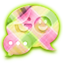 GO SMS THEME|PrettyPattern logo
