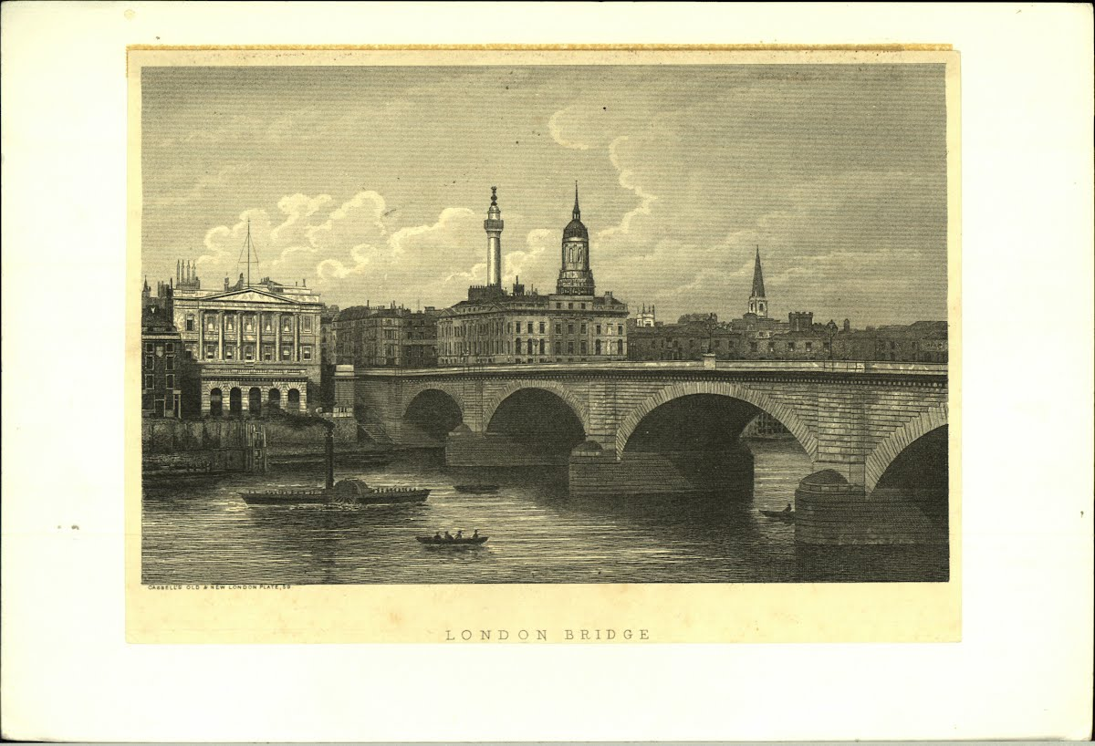 Top Euro Bri E London Bridges London Engravings 1750 Onwards