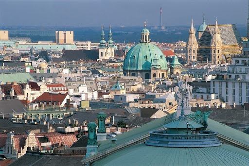 view-of-vienna - View of the cityscape in Vienna, Austria.