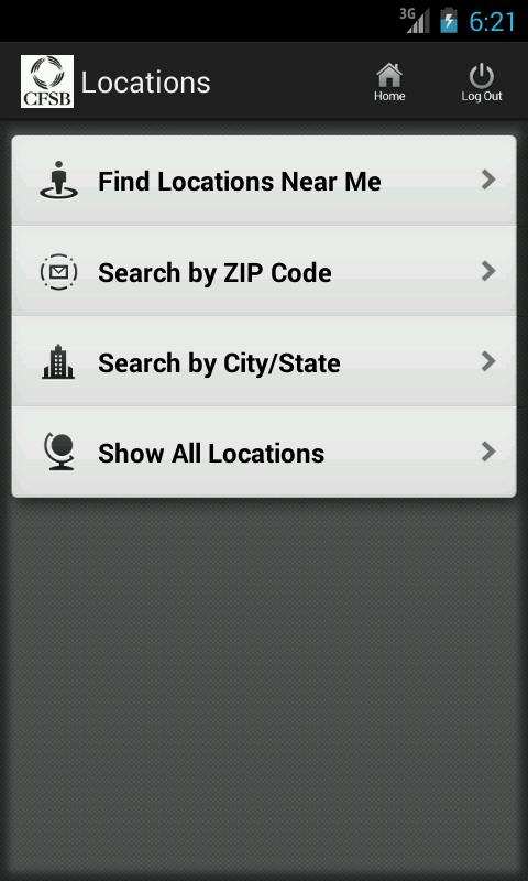 CFSB Mobile Banking - screenshot