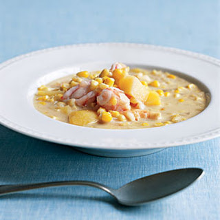 Coconut, Shrimp, and Corn Chowder