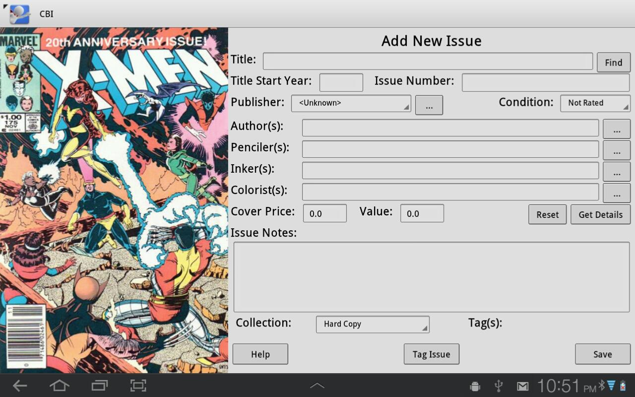 Comic Book Inventory Cbi Android Apps On Google Play