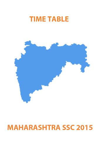 Maharashtra SSC 2015 TimeTable