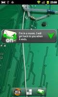 Screenshot of SMS Answering Machine Free