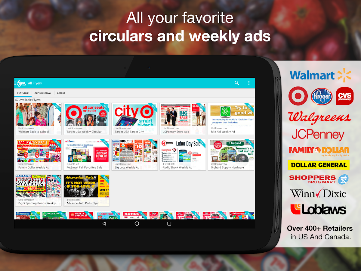 Flipp - Flyers & Weekly Ads - screenshot
