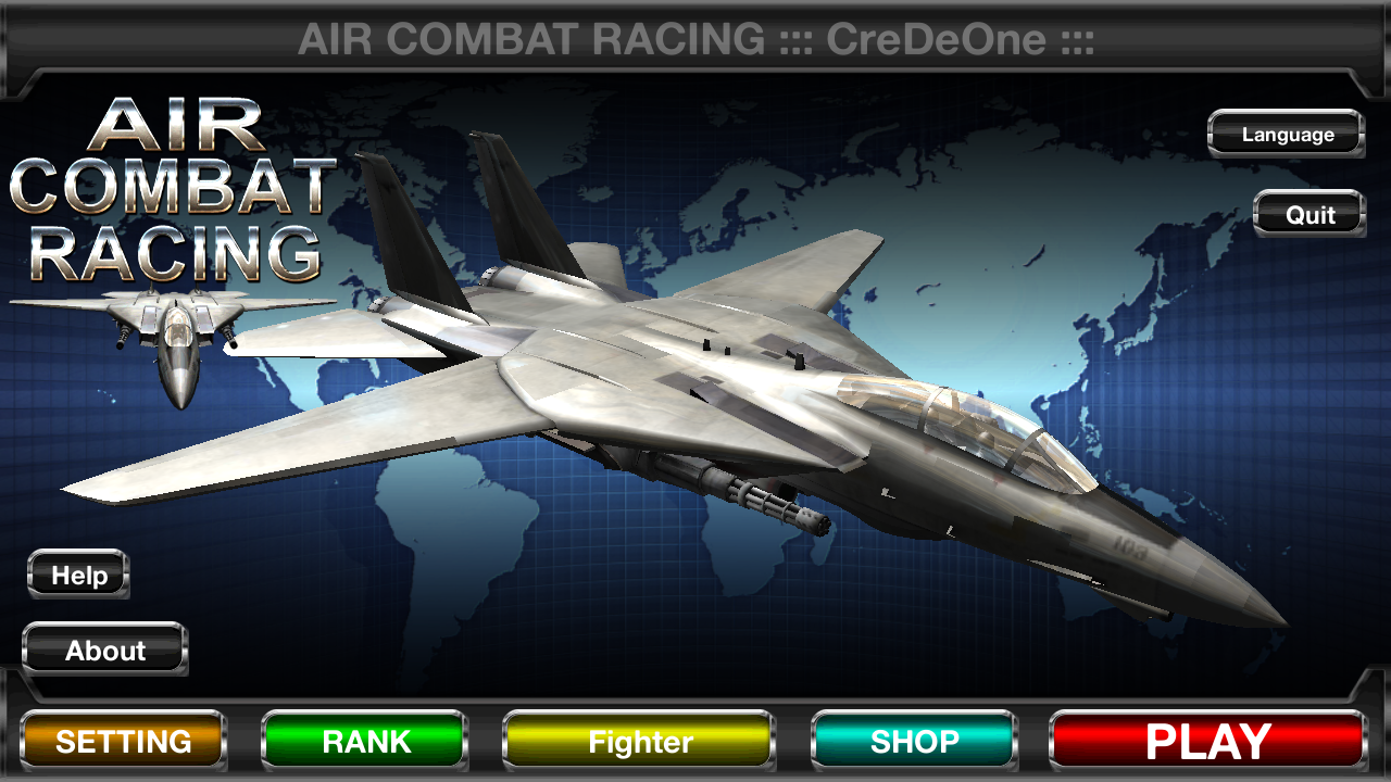 Air Combat Racing- screenshot