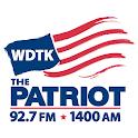 1400 WDTK logo