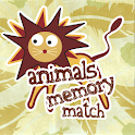 Animals Memory Match logo