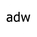 ADWTheme Faded Black logo