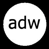 ADWTheme Faded Black