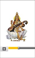 Screenshot of Saraswati Mantra (HD audio)
