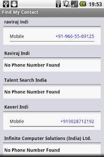 Find My Contact- screenshot thumbnail