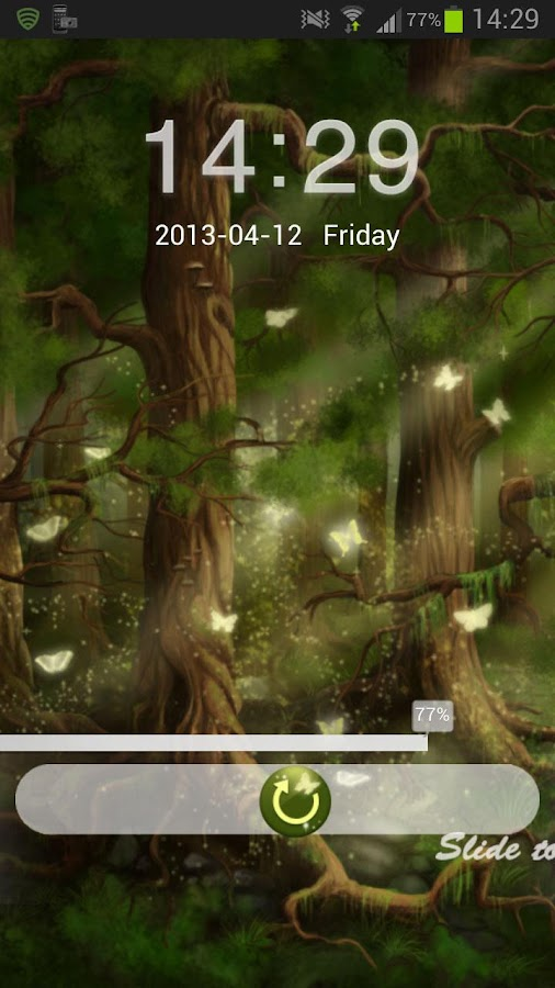 GO Locker Theme Forest- screenshot