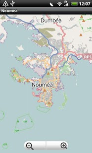 Noumea Street Map Android Apps on Google Play