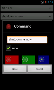 SSHutdown - SSH Executor- screenshot thumbnail