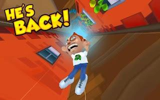 Screenshot of Super Falling Fred