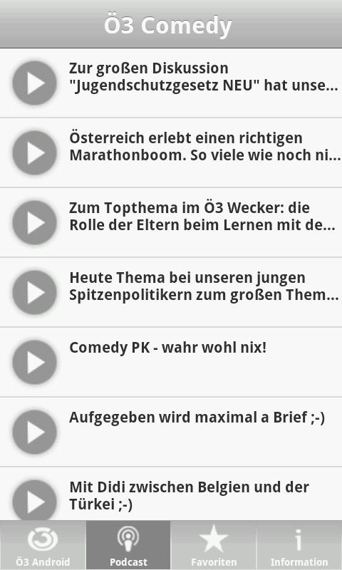 Hitradio Ö3 | Ö3 für Android - screenshot