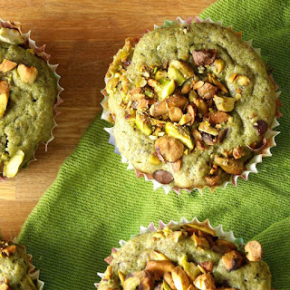 Green Tea Pistachio Muffins.