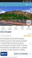 Screenshot of Kurdistan Tourism Travel Guide