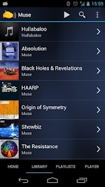 Subsonic Music Streamer Screenshot 2
