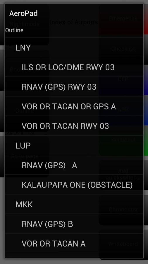 AeroPad - screenshot